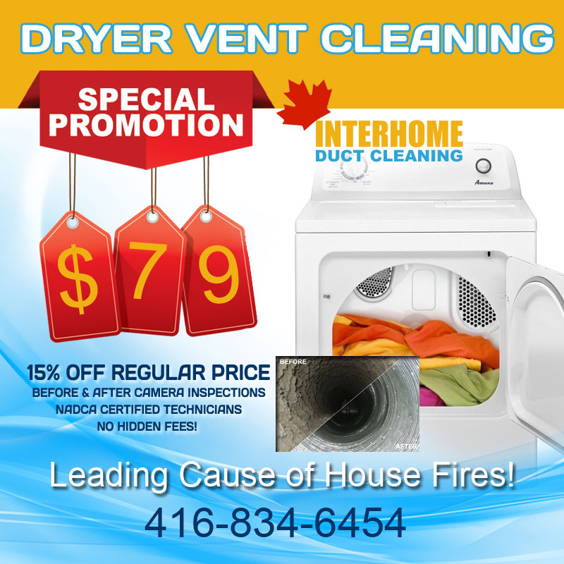 dryer vent cleaning special
