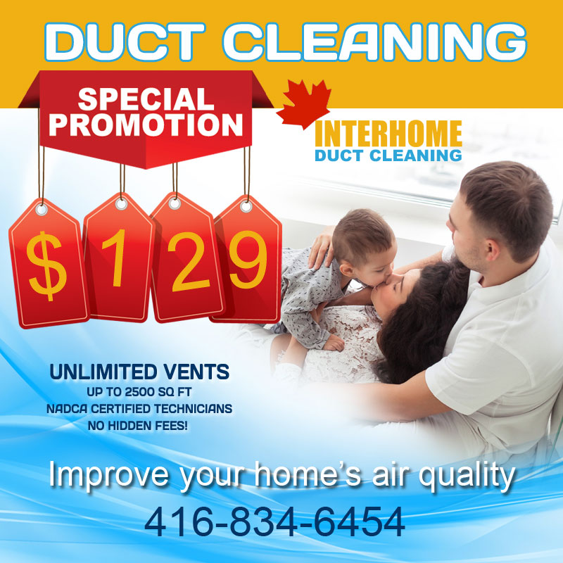 duct cleaning vaughan special